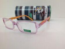 Occhiale da vistaBENETTON occhiale da vista bambina mod 178 largo 11,8cm rosa