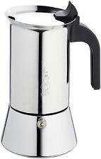 BIALETTI Elegance Venus 6 Tazze in Acciaio Inox Caffè Espresso Maker Coffee Machine