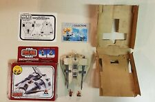 Star Wars Micro Collection Snow Speeder w/Box, Instructions, Figures Kenner 1982