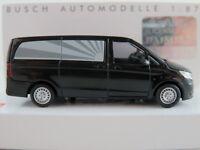 Busch 51131 Mercedes-Benz Vito Bestattungsfahrzeug in schwarz 1:87/H0 NEU/OVP