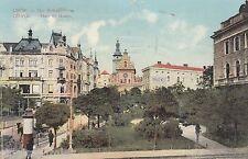 Lwiw Lwow Lemberg Plac Halicki AK 1913 Halicz-Platz Ukraine 1601080