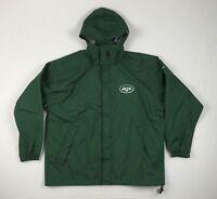 Nike New York Jets Para Hombre Chaqueta De Lluvia Verde (L