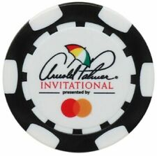 ARNOLD PALMER INVITATIONAL Logo - BLACK - POKER CHIP Ball Marker