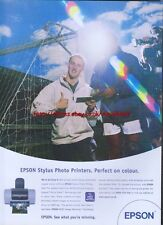 Epson Stylus Photo Printer 2002 Magazine Advert #1234