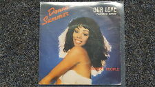 "Donna summer-Our Love/Nuestro amor/sunset people 7"" single spain"