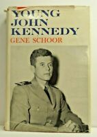 Young John Kennedy ,1963 Gene Schoor - First Edition Hardcover with Dust Jacket