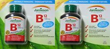 Jamieson Vitamin B12 1200 mcg 360 Tablets Timed Release Natural Sources