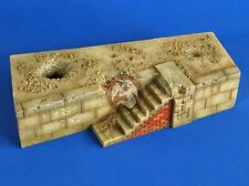Verlinden 1/35 Bombed War-torn Dockside Section [Plaster Diorama Model kit] 2635
