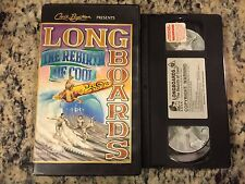 LONGBOARDS THE REBIRTH OF COOL RARE OOP VHS! NOT ON DVD! 1993 KEVIN CONNELLY HTF