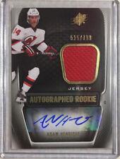 11-12 SPX Rookie Jersey Autograph #189 Adam Henrique 515/799-Ducks / Devils