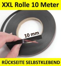 MAGNETBAND selbstklebend 10 mm x 10 Meter Magnetstreifen Rolle magnetisch ~yx