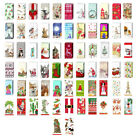 2 packs of Paper Pocket Tissues Christmas designs stocking fillers wedding cute