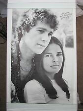 Vintage LOVE STORY Poster Ali Macgraw Ryan O'Neal Paramount Pictures 1970 PP-605