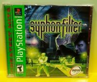 Syphon Filter  Playstation 1 2 PS1 PS2 Game Tested Working 1 Owner Complete