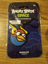 Angry Birds Backpack Clip-Key Chain - Ages 4+ Blue Bird New