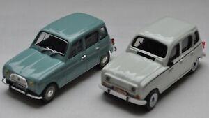 Lot 2 Renault 4 1/43 - UH & Burago