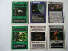 Star Wars ccg 6 M/NM A New Hope Revised, Unlimited, WB-Superlaser, Hypo, Dianoga