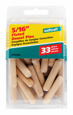 Wolfcraft  Fluted  Birch  Dowel Pin  5/16 in. Dia.