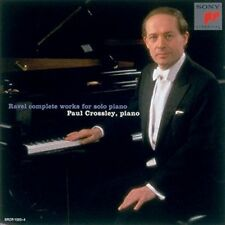 PAUL CROSSLEY-RAVEL: COMPLETE WORKS FOR SOLO PIANO -JAPAN CD C94