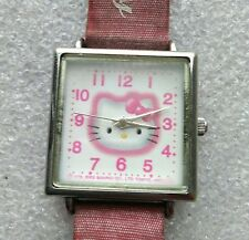"Filles Quartz Vintage Bracelet Montre ""Hello Kitty"""