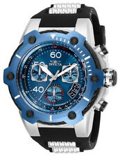 Invicta 25871 Bolt Blue Dial Polyurethane Strap Chronograph Men's Watch