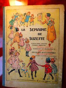 PATRONS BLEUETTE, LA SEMAINE DE SUZETTE TRENTIÈME ANNÉE, 1º SEMESTRE, 1933/34
