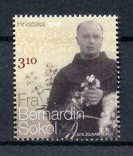 Croatia 2018 MNH Fra Bernardin Sokol 1v Set Religion Stamps