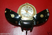 Aluminum Cicada or Lady Bug Swiss Movement Watch Lucky De Luxe -FREE US SHIPPING