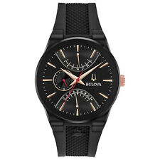 Bulova Men's Quartz Special Edition Latin Grammy Dual-Time 41mm Watch 98B321