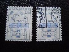 DANEMARK - timbre yvert et tellier n° 664 x2 obl (A33) stamp denmark
