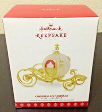 Hallmark Keepsake 2017 Cinderella's Carriage Ornament Disney