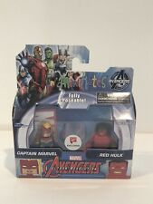 MINIMATES MARVEL AVENGERS ULTRON REVOLUTION CAPTAIN MARVEL AND RED HULK NIB