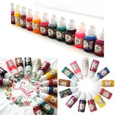 US STOCK 13Pcs 10g Bottles Epoxy UV Resin Coloring Dye Colorant Pigment DIY Kit