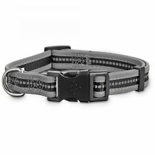 Good2Go Reflective Adjustable Dog Collar in Black, Medium By: Good2Go