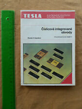 Buch Tesla Číslicové integrované obvody Digitale integrierte Schaltungen 1987