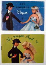 Peynet 2 catalogues des célèbres poupées TBE