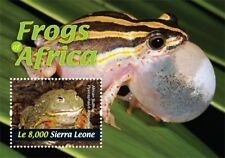 Sierra Leone - Frogs of Africa Stamp - Souvenir Sheet MNH