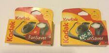 2 KODAK Fun Saver 35mm One Time Use Flash Camera 27 Exposure [Exp. 09/2009]