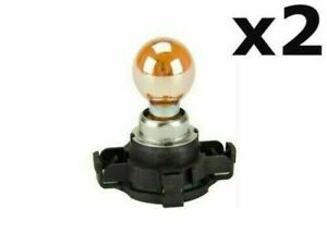 Volkswagen Golf Touareg 2010+ Front Turn Signal Light Bulb With Base 12V - 24W