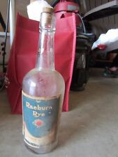 Empty Vintage Raeburn Rye Bottle, Superior Supply Co, thaca NY New York