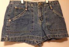 L.E.I. Girls Blue Jeans shorts Size 7 waist is 28