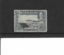 1936 St. Lucia - King George V,  - Landscapes  - Single Stamp - Mounted Mint.