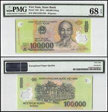 Vietnam (Viet Nam) 100,000 (100000) Dong, 2012, P-122i, UNC, Polymer, PMG 68 EPQ