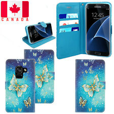 For Samsung Galaxy A8 2018 Magnetic PU Leather Wallet Flip Stand Case Cover