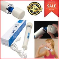 30 Speed Personal Massager Wand Head Back Full Body Massage Electric HandHeld