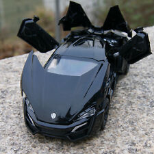 Model Cars Lykan Hypersport 1:32 Alloy Diecast Toys Collection&Gifts Black New