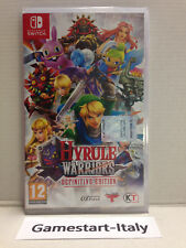 HYRULE WARRIORS DEFINITIVE EDITION - NINTENDO SWITCH - VIDEOGIOCO PAL NUOVO NEW