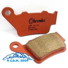 PASTILLAS DE FRENO TRASERO BREMBO SINT BB02SD OFFROAD HYOSUNG RX SM 450 2011