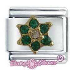 MAY FLOWER - DAISY CHARM Fits Nomination Classic Size Italian Charm Bracelet