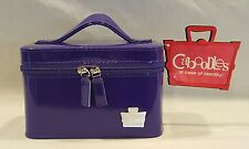 NEW CABOODLES GO-GETTER PURPLE MAKEUP TRAIN CASE/ORGANIZER